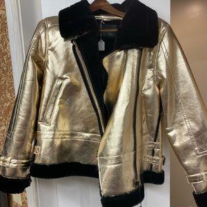 Blank NYC bomber coat